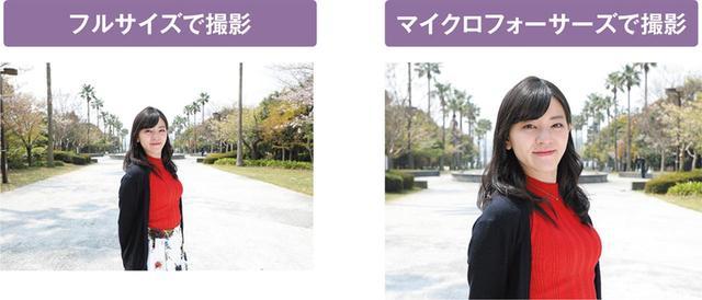 画像: 焦点距離35ミリのレンズで撮影。マイクロフォーサーズで撮影した写真はフルサイズで70ミリ相当の画角となる。