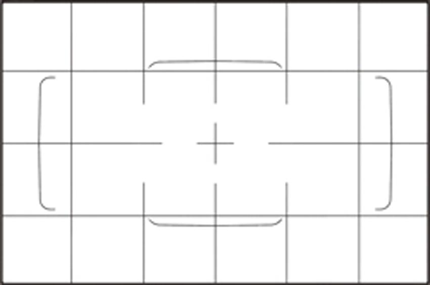 画像: グリッド線をガイドにして、画面の中にある水平または垂直の線が傾いていないことを確認しながら撮れば、構図上の失敗が減らせる。