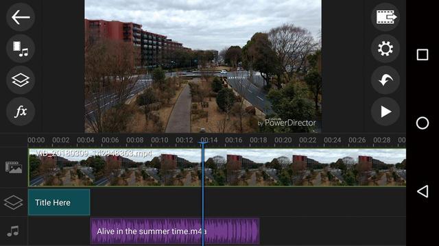 画像: クリップ編集、タイトルや静止画の挿入、BGMの追加などが可能。