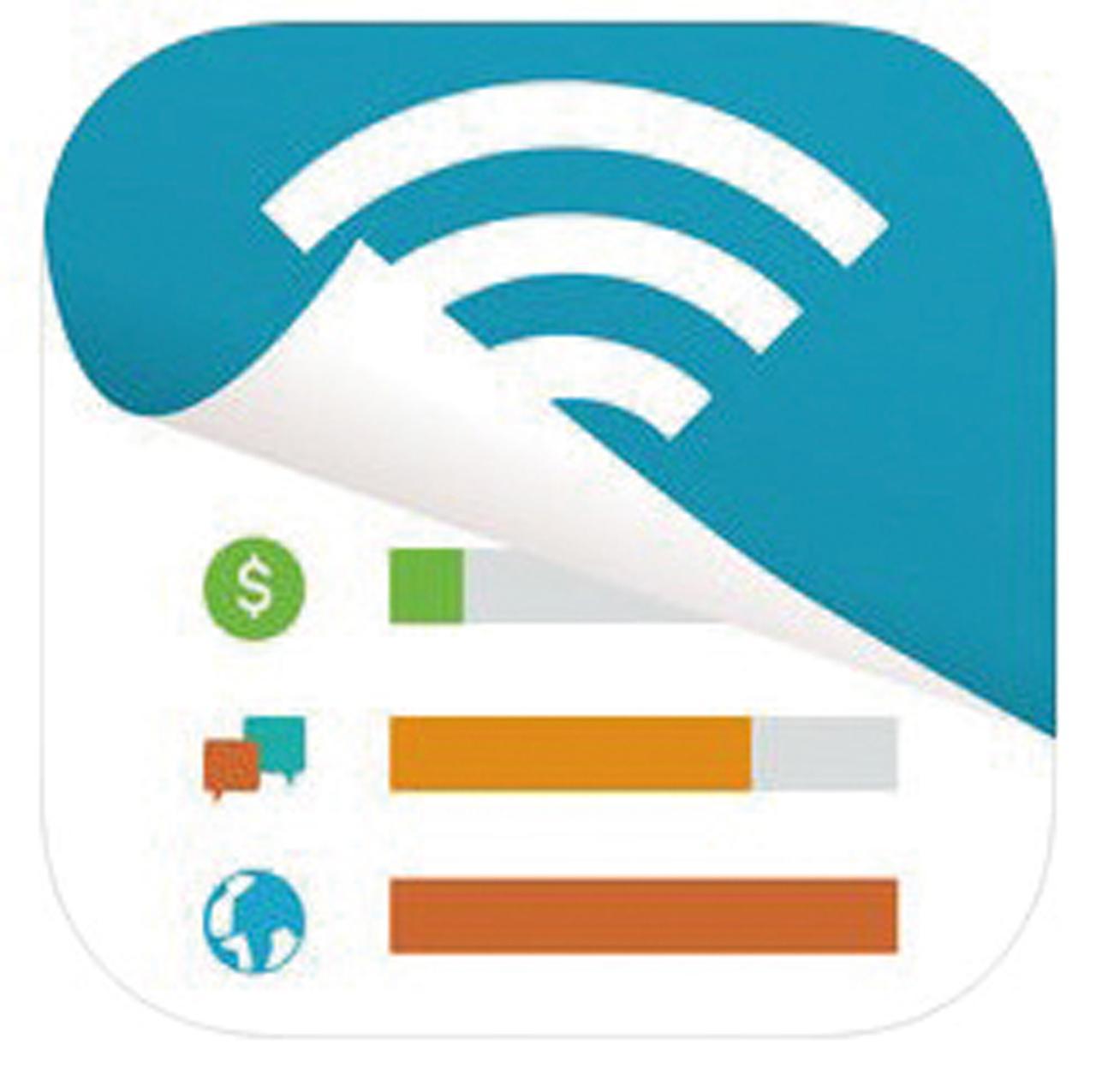 画像1: ❺月ごとやアプリごとの通信料を細かく把握することができる