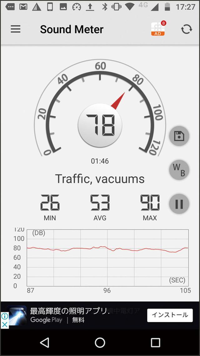 画像2: ❹日常生活などで感じる騒音のレベルを客観的に把握できる
