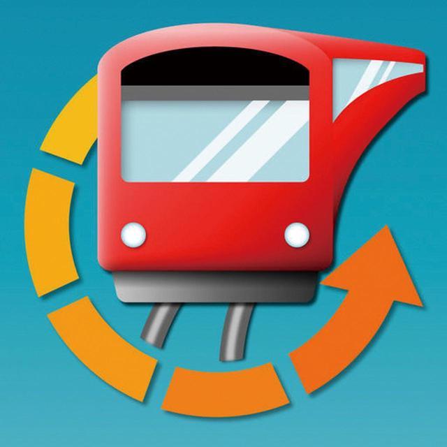 画像1: ❷電車が発車するまでの残り時間をカウントダウンで示す