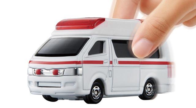 画像: トヨタ・ハイメディック救急車