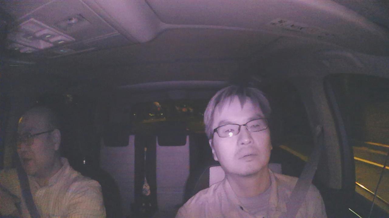 画像: サブカメラに搭載された赤外線LEDを使うと、暗い車内の様子を鮮明に記録できる。業務用途に役立ちそうだ。