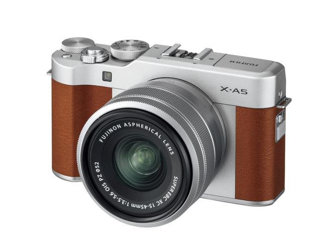 画像: 富士フイルム X-A5 実売価格例:4万9990円(ボディ)
