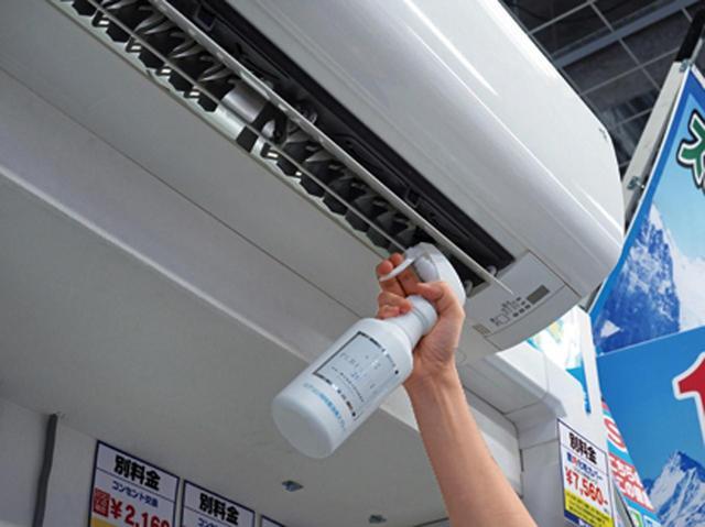 画像: エアコンはもちろん、室内の気になる箇所に、直接一吹きしてもいい。