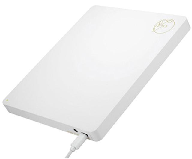 画像: iPhoneやAndroid端末と直接接続できるCDドライブ。各種スマホと接続するため、Lightning、USB Micro B、type Cのケーブルが付属。