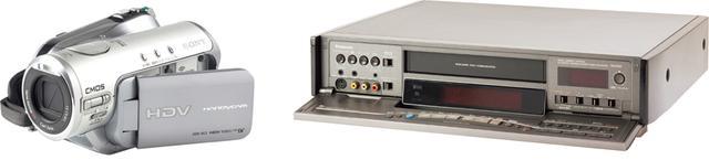 画像: ビデオカメラやビデオデッキは、すでに入手困難になっている方式もある。再生機材が入手できるうちにデジタル化しておこう。