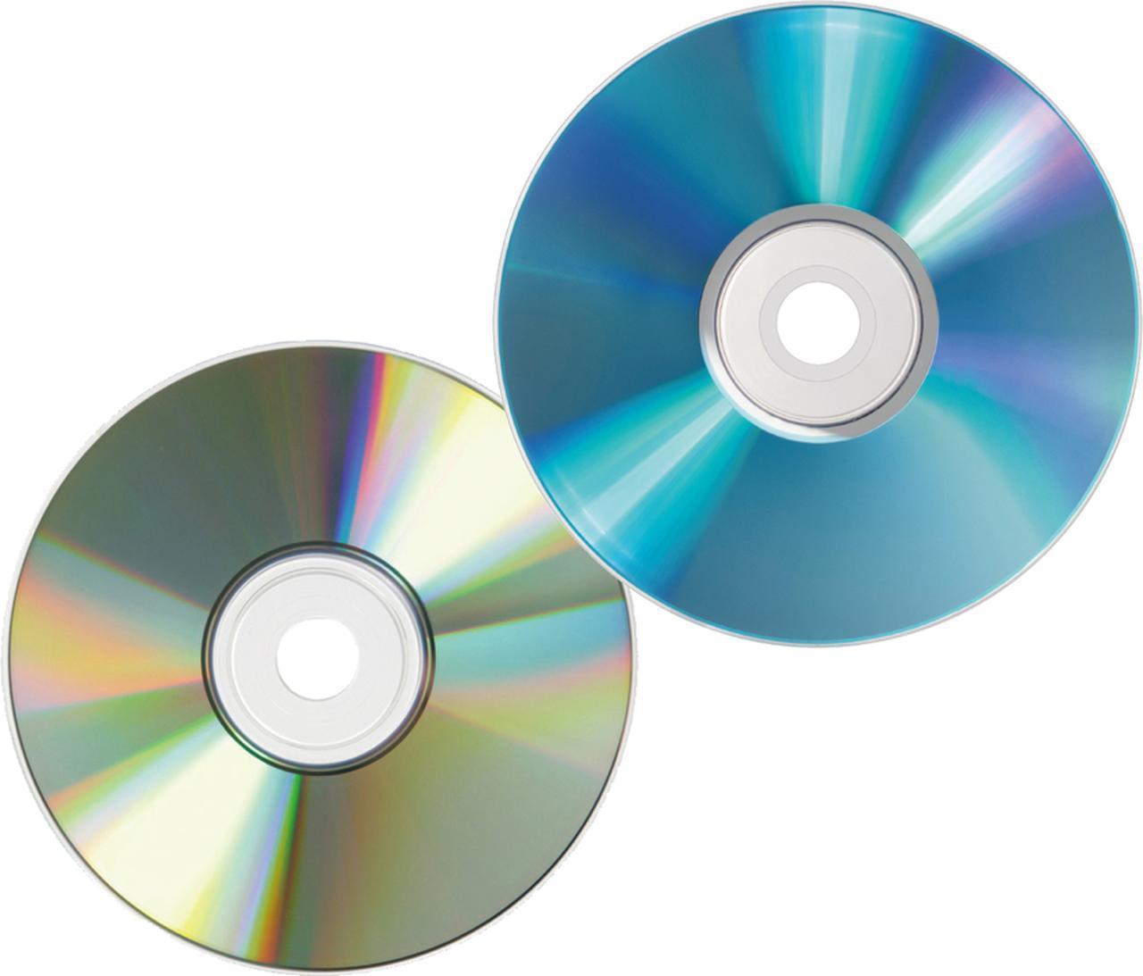 画像: ドライブがないと読み書きができない。DVDは書き込み面の耐久性が低いものがある。BDのほうが耐久性はいい。