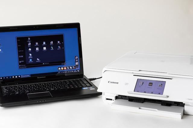 画像: スキャンはパソコン側からでも実行できる。より細かな設定でスキャンするなら、こちらの方法がおすすめ。