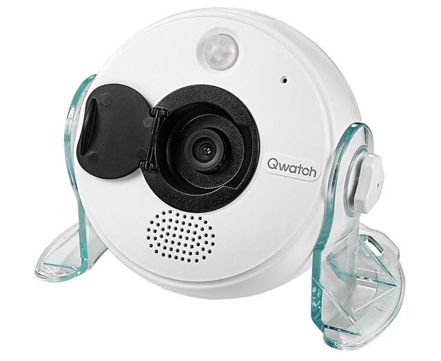 画像: ネットワークカメラはアイ・オー・データのTS-WRLP(実売価格1万1760円程度)。