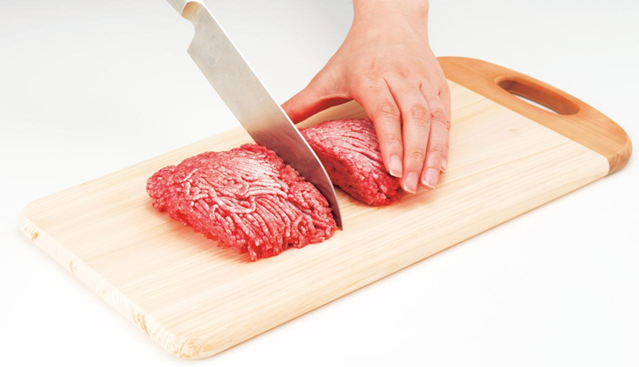 画像: 過冷却状態から一気に凍結させるため、食材が均一に凍るのが特徴。ひき肉なども解凍いらずで、使いたい分だけすぐに使うことができる。