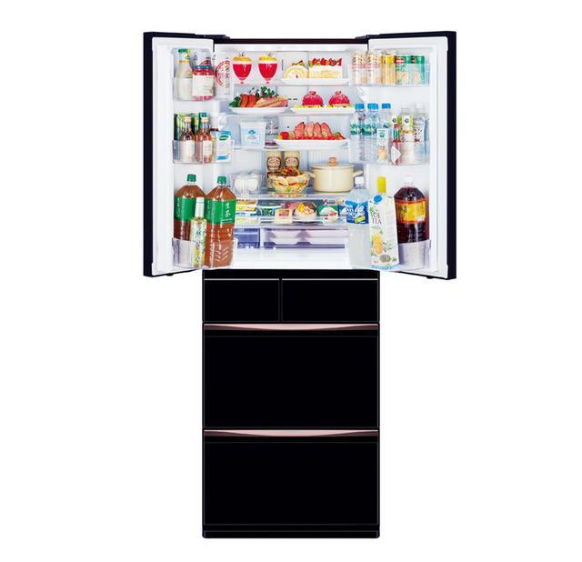 画像: マイナス7℃で微凍結させて長期保存できる「切れちゃう瞬冷凍」、氷点下でも食材を凍らせずに保存できる「氷点下ストッカーD」など、食材の鮮度保持機能が充実する冷蔵庫。