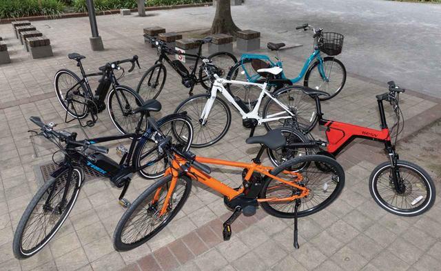 画像: 選択肢がどんどん増えているe-bike。タイプ、基本性能、装備まで、あらゆる面に注目して、自分にぴったりの一台を選ぼう。