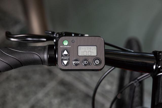画像: 独自のエコナビ液晶スイッチ4S+を採用。エコ走行を促すエコナビ機能を搭載。