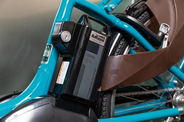 画像: 急速充電に対応し、日常使いに適したバッテリー。