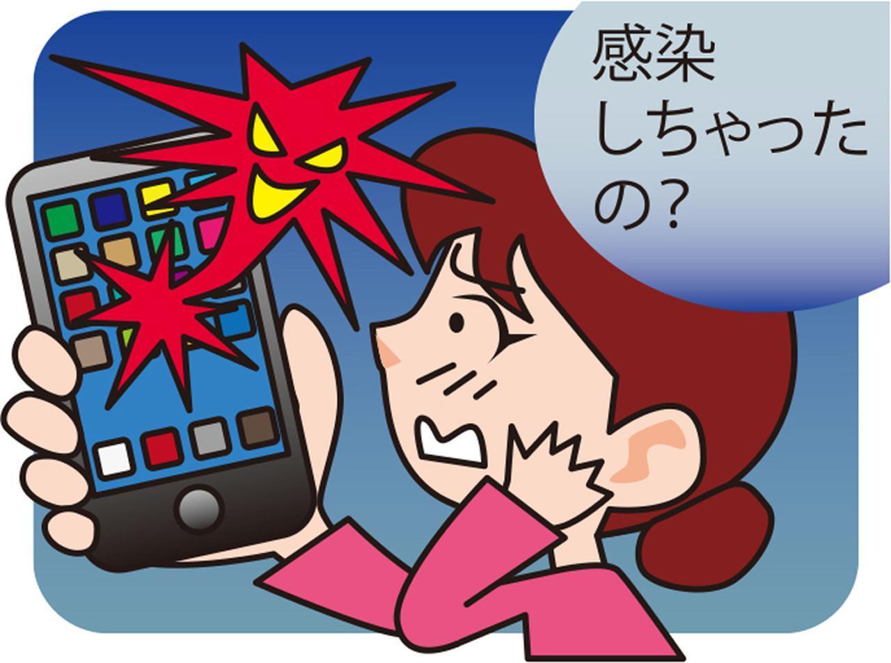 画像: スマホはウイルス感染の可能性が低いが、正規のアプリ以外のものを使うと危険だ。正規以外のものは使わないようにしたい。