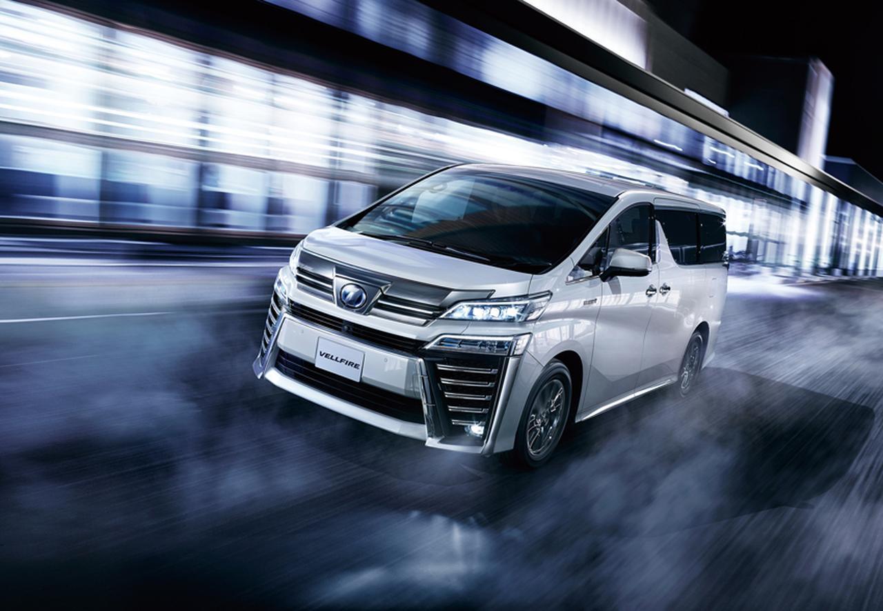 画像: アジアでの人気が高いヴェルファイア。色は白か黒、本革内装のガソリン車が有力。