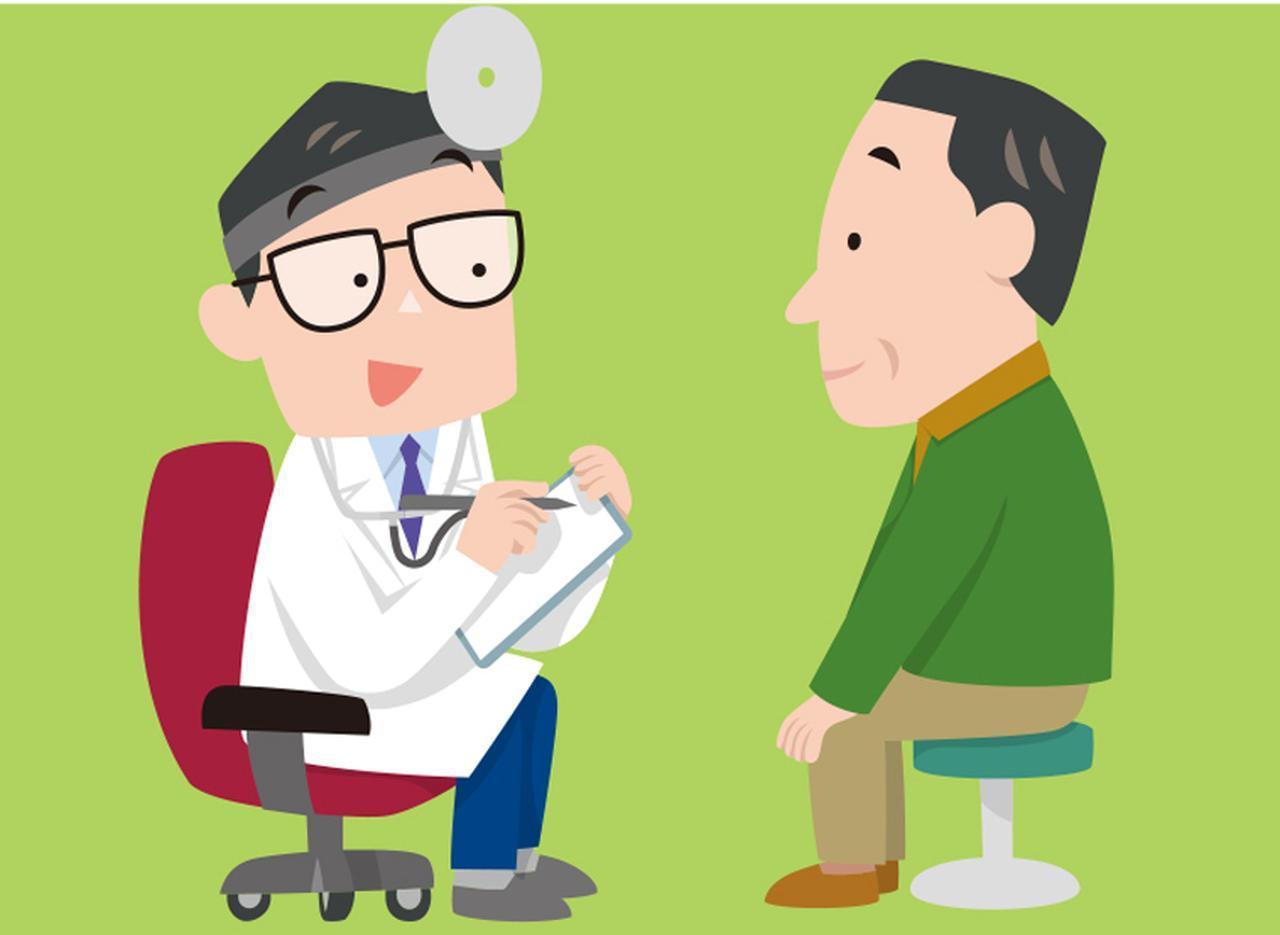 画像: まず、耳鼻科で診察を受ける。聴力検査などを行って、「聞こえ」の状況をきちんと把握する。