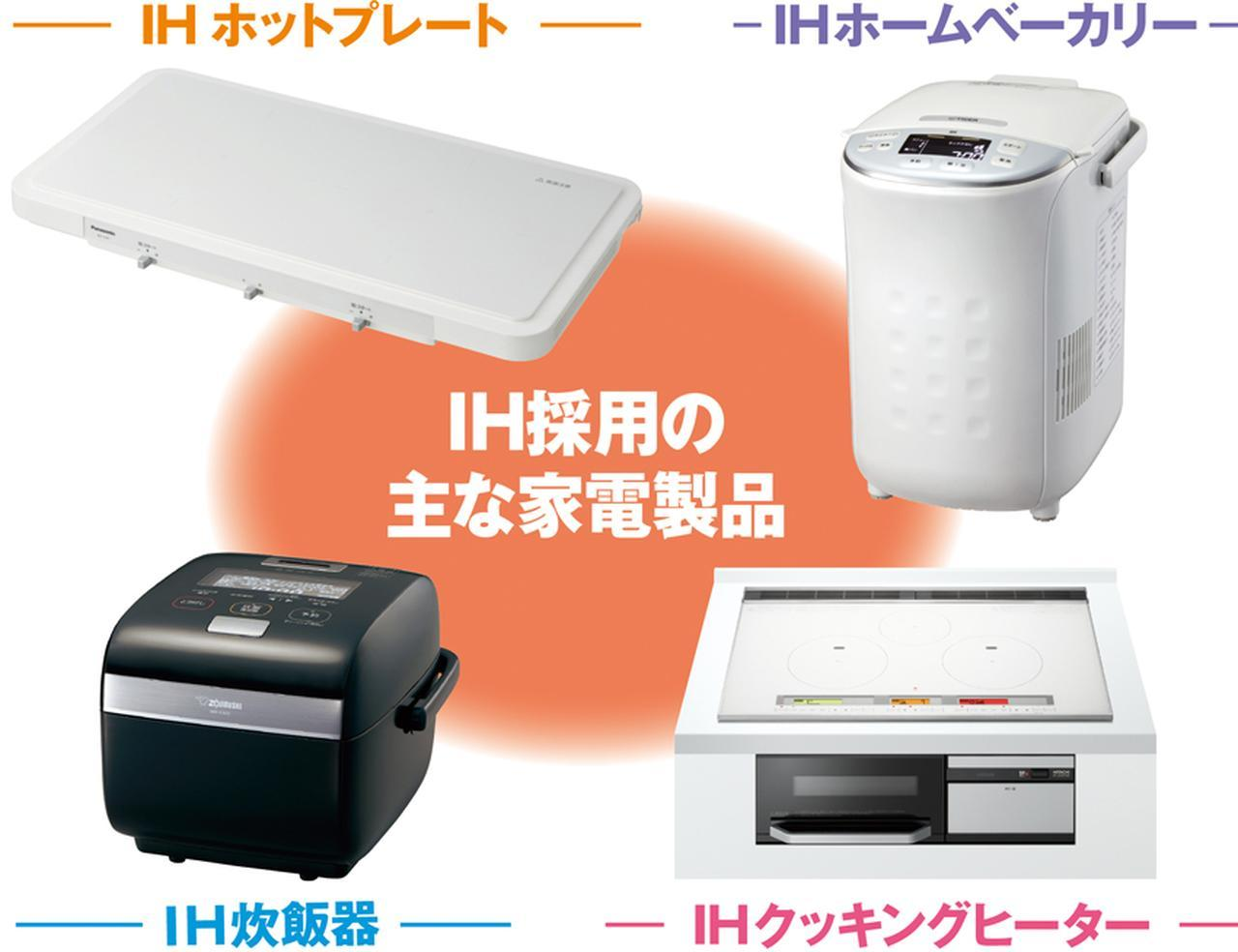 画像: IH式の普及 炊飯器、ホットプレートなど採用する家電が増加