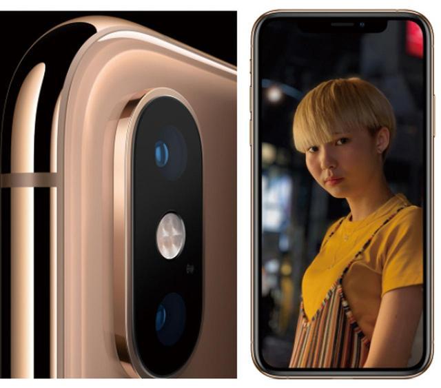 画像: XRを除き、背面にデュアルカメラを内蔵し、背景をぼかした写真が撮れる。光学式手ブレ補正も搭載。