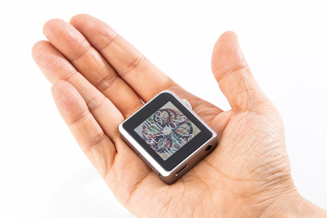 画像: 手のひらサイズの超コンパクトボディ!