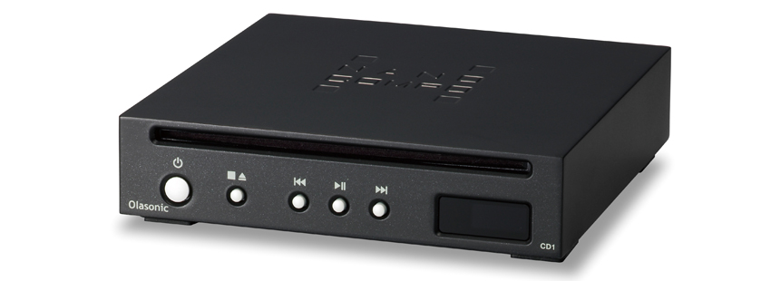 画像: DAC非搭載のCDトランスポート。オラソニックのナノコンポシリーズの一つ。超小型で、デスクトップに最適。 ●幅149㎜×高さ33㎜×奥行き160㎜●1.2㎏