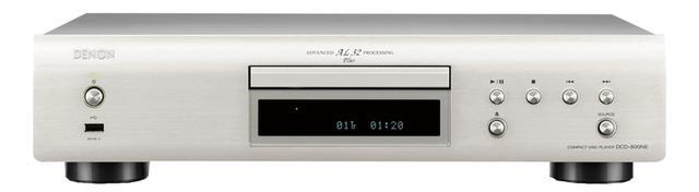 画像: 800NEシリーズのCDプレーヤー。アナログ波形再現技術など伝統のワザを満載。ハイレゾ音源のUSBメモリー再生も可能。 ●幅434㎜×高さ107㎜×奥行き275㎜●4.5㎏