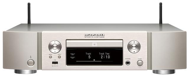 画像: CDプレーヤーとネットワークプレーヤーを統合したネットワーク&CDプレーヤー。現代の音源が一堂に会す。 ●幅440㎜×高さ165㎜×奥行き369㎜●8㎏