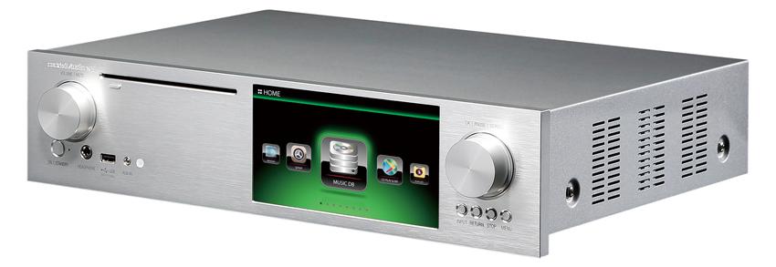 画像: CD、CDリッピング、USB DAC、ネットワークプレーヤーと、驚くほど多数のメディアに対応するスーパーマシン。 ●幅441㎜×高さ111㎜×奥行き365㎜●7.9㎏