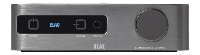 画像: エラック初のデジタルアンプ。自動音場補正「AUTO BLEND」の効果を知ると、部屋の癖の影響が大きいことがわかる。 ●幅214㎜×高さ60㎜×奥行き284㎜●2.8㎏