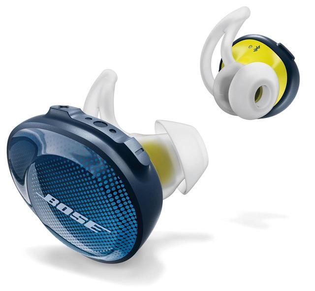 画像: 完全に分離した左右のユニットを耳栓のように装着する完全ワイヤレス型のイヤホン。使い勝手のよさは圧倒的。