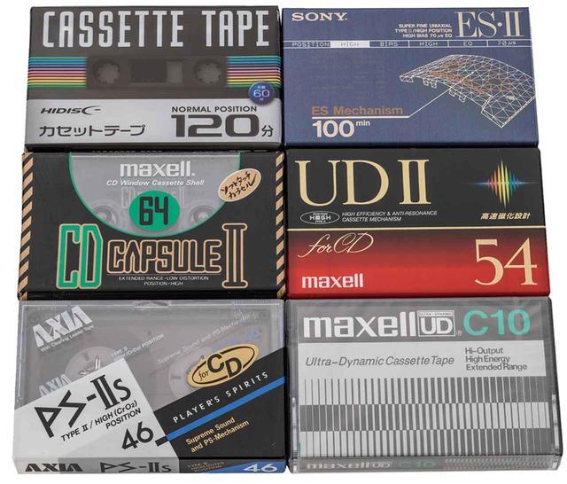 画像: 長時間テープはテープ自体が薄いため、トラブルの原因になりやすい。原則として、ソースの長さに合わせたテープを選ぶことが重要。