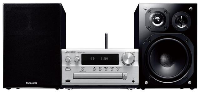 画像: パナソニックのミニコンポの最上位モデル。3ウェイスピーカーの採用や、独自のデジタルアンプ「Lincs D-AmpⅢ」の採用、電源部や入力信号のノイズ対策など、高音質技術をふんだんに採り入れている。 サイズ CDレシーバー:幅21.1㎝×高さ11.4㎝×奥行き26.7㎝ スピーカー:幅16.1㎝×高さ23.8㎝×奥行き26.4㎝、重量 CDレシーバー+スピーカー:9㎏、実用最大出力 60W+60W ドライブ:CD CD-R/RW、ラジオ:AM/FM ワイドFM、対応ハイレゾ:PCM 192/24 DSD 5.6、ブルートゥース:SBC/AAC
