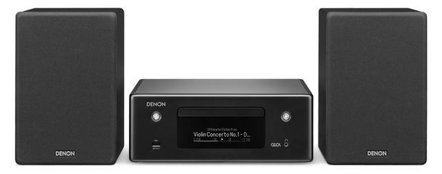 画像: 独自のネットワークオーディオ機能のHEOSを搭載。ブルートゥースのほか、AirPlay2にも対応するなど、先進的だ。音楽配信サービスも「Spotify」「AWA」「Amazon Music」などに対応する。 サイズ CDレシーバー:幅28㎝×高さ10.8㎝×奥行き30.5㎝ スピーカー:幅15.3㎝×高さ23.3㎝×奥行き20㎝、重量 CDレシーバー:3.4kg スピーカー:2.4㎏(1台)、実用最大出力 80W+80W(4Ω) ドライブ:CD CD-R/RW、ラジオ:AM/FM ワイドFM、対応ハイレゾ:PCM 192/24 DSD 5.6、ブルートゥース:SBC