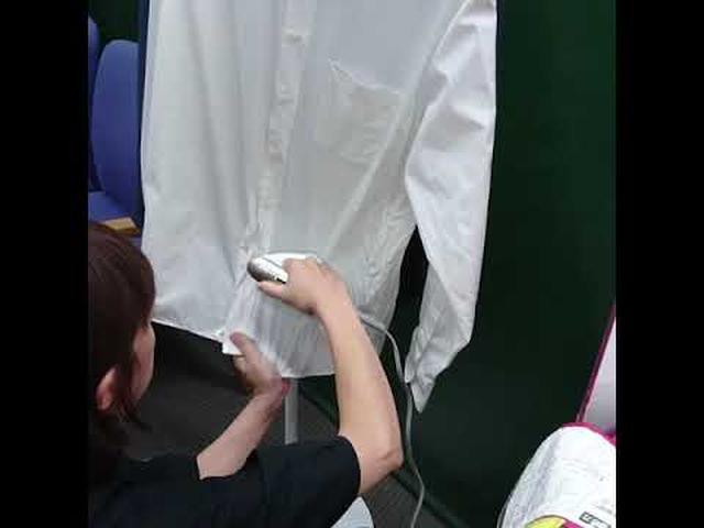 画像: 衣類スチーマーでシワ取り youtu.be