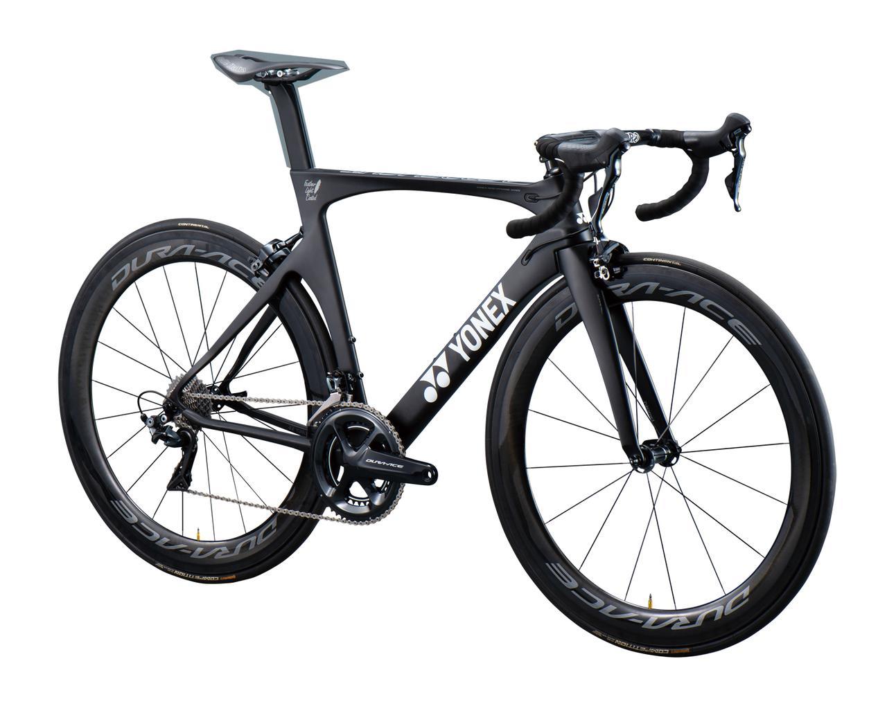 画像2: ヨネックスの自転車 カーボンエアロロードバイクフレーム「AEROFLIGHT」(エアロフライト)の性能と価格