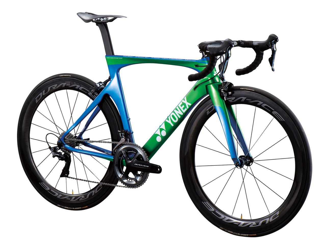 画像1: ヨネックスの自転車 カーボンエアロロードバイクフレーム「AEROFLIGHT」(エアロフライト)の性能と価格