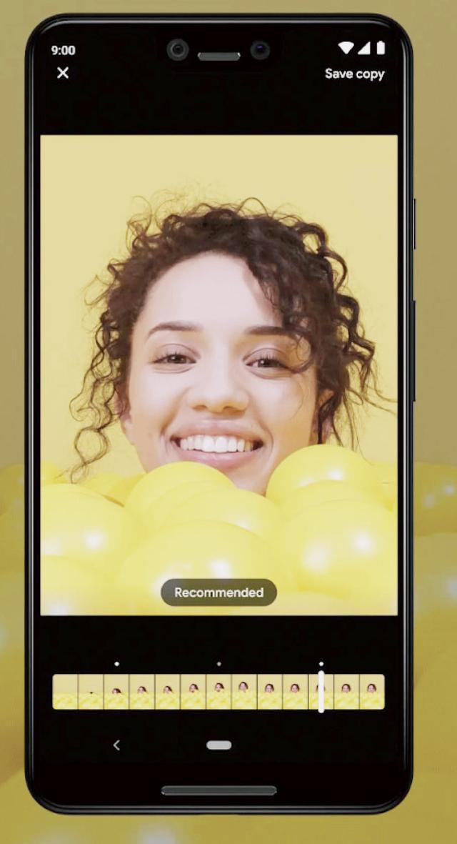 画像: シャッターを押した前後の画像をAIが解析して、おすすめの瞬間を選ぶ「トップショット機能」。