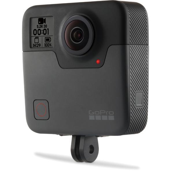 画像: 360度、全方向の写真と動画を撮影できるのがこのモデル。5.2Kという高解像度での記録が可能だ。