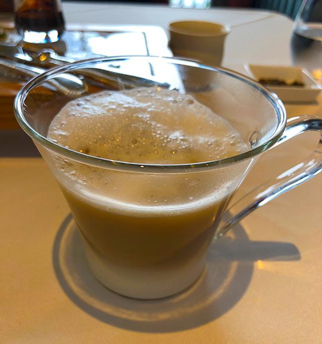 画像: クリーミーなのに、後味がサッパリしているのはやはり「お茶」ならでは。食後にぴったりの1杯
