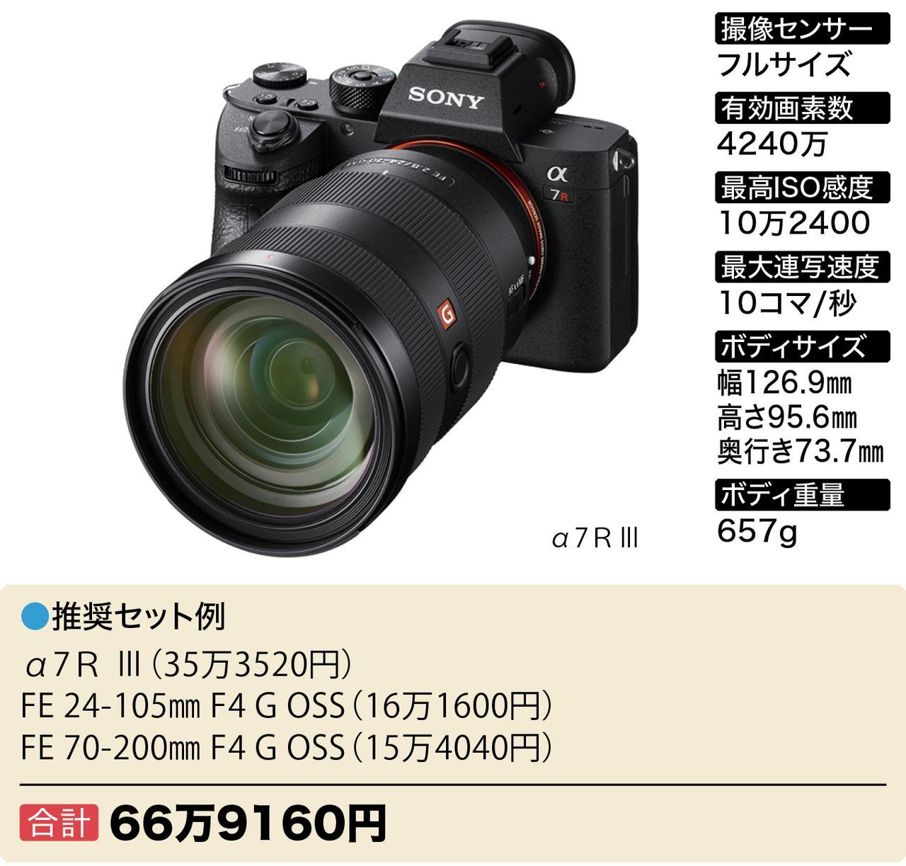 画像4: Wズーム&ボディセットで40万円~おすすめフルサイズミラーレス6選