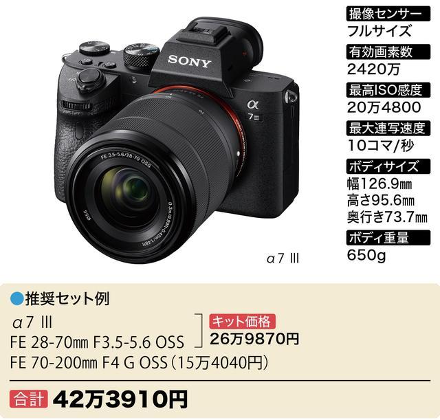 画像6: Wズーム&ボディセットで40万円~おすすめフルサイズミラーレス6選