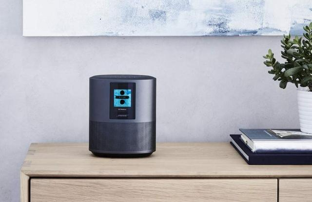 画像: Amazonの音声AIアシスタントであるAmazon Alexaに対応したボーズのスマートスピーカー「Bose Home Speaker 500」