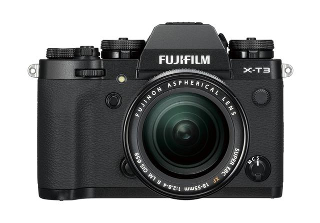 画像: 見た目は従来モデルのX-T2に似ているが、撮像センサーもエンジンも新型になって高性能化を実現。