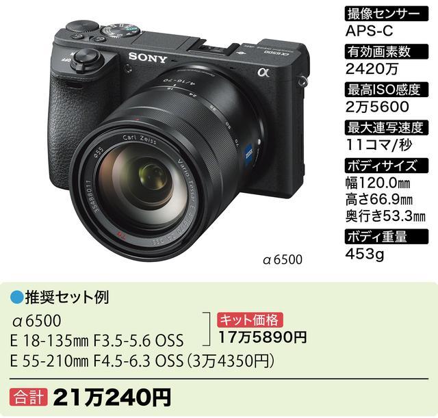 画像5: 【予算別】ミラーレス一眼 Wズーム&ボディで15万円~のおすすめ6セットはコレ
