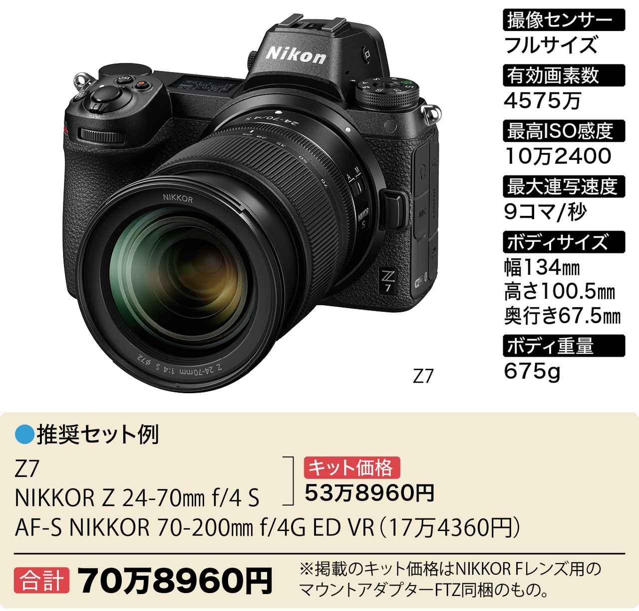 画像2: Wズーム&ボディセットで40万円~おすすめフルサイズミラーレス6選