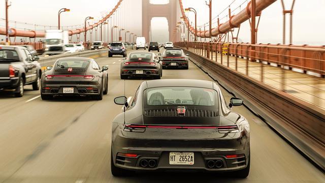画像: 都市部での渋滞での走行チェックも当然行われている。