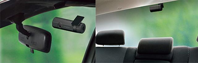 画像: リアカメラには、暗所撮影に強いSTARVIS技術を採用。ヘッドライトの光源がなくても人や車を鮮明に記録できる