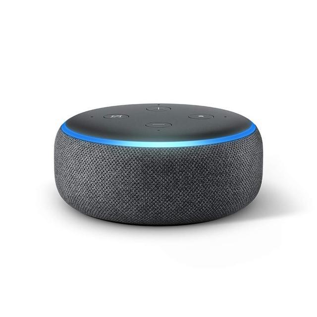 画像: Amazonのスマートスピーカー、Echoシリーズのベーシックモデルとなる「Amazon Echo Dot(第3世代)」でもタイマーはもちろん使える。